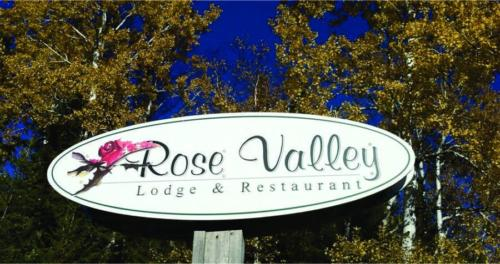 rose valley road sign